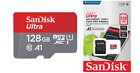 SANDISK ULTRA MICRO SD 32GB 64GB 128GB CLASS 10 SDHC SDXC MEMORY CARD & ADAPTER! <br/> ⭐GENUINE ⭐SANDISK RETAIL PACKED⭐UK REG COMPANY⭐