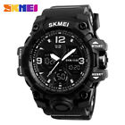 Men Military Sports Dual Time Display Waterproof Classic Military Watch image