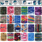 Printed Bandana Head Face Mask Neck Gaiter Snood Headwear Beanie Warp Tube Scarf