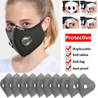 Reusable Cycling Face Mask Air Purifying Outdoor Anti-fog Protective Mouth Mask
