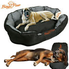 Deluxe Jumbo Dog Bed Soft Removable Cushion Warm Luxury Warm Pet Basket XL XXL