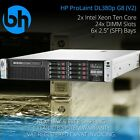 HP DL380p G8 8-SFF Configurable Rackable Server 2x Xeon Six or Eight Core 96GB