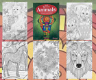 Adult Colouring Books Colour Therapy Patterns  Anti-Stress  Books Stress Release