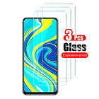 3Pcs For Xiaomi Redmi Note 9S 9 8 8T 7 6 5 Pro Tempered Glass Screen Protector
