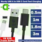 USB C Fast Charging Charger Cable For Xiaomi Redmi Note 8 /...