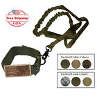 (3 pc Set) K9 Tactical Collar, Bungee Leash w/ Traffic Handle + Camo Flag Patch