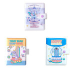 LUCALAB Happy Mini Diary 3 Type Planner Note undated Diary Scheduler + Sticker