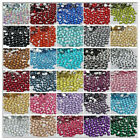 5000P Crystal Flat Back Rhinestones Gems Diamante Bead Nail Art Crafts 2-6MM 06