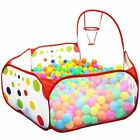 Ball Pool With Basket Ocean Pit Baby Playpen Toy For Children Tent Outdoor Toys