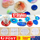 Coaster Resin Casting Mold Epoxy Mould Silicone Jewelry Agate Making Tool Craft