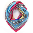 """35"""" Silk Like Scarf for Women Large Square Satin Neck Scarves Hair Head Wraps"""