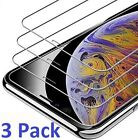 3-Pack For iPhone 11 Pro 8 7 6s Plus X Xs Max XR Tempered GLASS Screen Protector