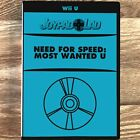 Need for Speed: Most Wanted U Nintendo Wii U Video Game