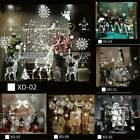 Christmas Xmas Santa Removable Window Stickers Art Decal Wall Home Shop Decor Us