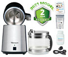 Water Distiller, Stainless Steel, Glass Jug, Latest 2021 Model - Make Water Pure