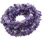 Natural Gemstone Tumbled Chips Stone Drilled Loose Beads Spacer Craft Strand