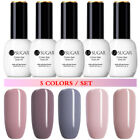 UR SUGAR 1/5 Bottles UV Gel Polish Nail Art Soak Off Decors Base Coat Top Coat