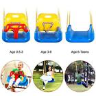 3-in-1 Swing Set Infant to Toddler Upgrade Version for Home Garden Patio Indoors