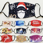 Merry Christmas Face Mask Reusable Washable Protection Cover Breathable Xmas USA