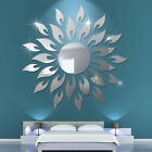 3d Mirror Sun Wall Sticker Art Removable Modern Mural Decal Home Room Diy Decor