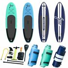 6'' thickness Inflatable Stand Up Paddle Board SUP Surfboard with complete kit