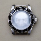 Replacement 39.5MM Stainless Steel Watch Case for NH35 NH36 Watch Movement Part