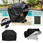 BBQ XS-L Grill Cover Gas Barbecue Heavy Duty Waterproof Dustdproof Outdoor Black