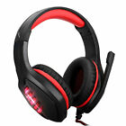 3.5mm Gaming Headset Noise Isolating For Xbox One PS4 PC Laptop w/Splitter Cable picture