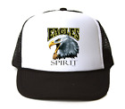 Trucker Hat Cap Foam Mesh School Team Mascot Eagles Spirit