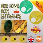 Bee Hive Box Entrance 6 Pcs Gate Disc Plastic Beekeeping Tool Equipment UK