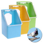 Bird Feeder Water Food Feeding Parrot Cage Plastic Bowl Pigeon Drinking Box Hot