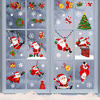 Christmas Window Glass Sticker Decal Mural Home Decoration Party Wall Stickers