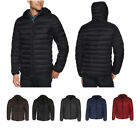 Maximos Puffer Water-Resistant Insulated Lightweight Removable Hooded Jacket