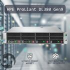 "HPE ProLiant DL380 Gen9 Configurable 4x3.5"" Server Upto Dual 2.5GHz 12C 96GB RAM"