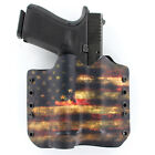OWB Kydex Holster for Hanguns with OLIGHT PL-2RL BALDR - USA DARK