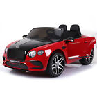 Licensed Bentley Continental Sports 12v Ride on Car - Pink, Red or White