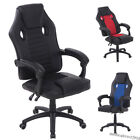 'Pu Leather Sport Racing Gaming Chair Office Executive Swivel Home Computer Desk