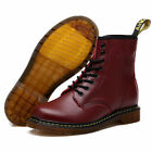 Women 8-Eye Classical Airwair 1460 Leather Ankle Boots Men Dr. Martens Shoes
