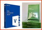 ACTIVE CODE METRIC FOLDERSIZES OF PROJECT AND VISIO PROFESSIONAL 2019 DVD 32/64