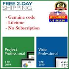 [CODE] PROJECT AND VISIO PROFESSIONAL 2019 DVD - WORLDWIDE