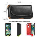 PU Leather Belt Pouch Case With Magnetic Closure For iPhone 12 Pro Max XS Max