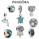 'New Genuine Silver Pandora Ocean Charm Ale S925 & With Gift Box  Uk