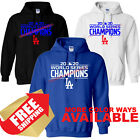 Los Angles Dodgers LA 2020 World Series Champions Hoodie -