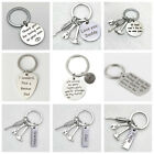 Personalised+Gifts+For+Daddy+Dad+Father+Papa+from+Son+Daughter+Keyring+Xmas