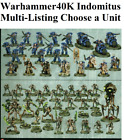 Warhammer 40k All Indomitus SPACE MARINES/NECRONS Set Lot NOS CHEAPEST
