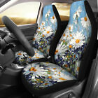 Personalised Car Front Seat Cover Auto Chair Cushion Covers Protector Flowers