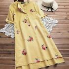 Casual Tops Pullover Floral O Neck Fashion T-Shirt Blouse V Neck New