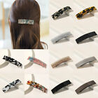 Women Bling Glitter Geometric Spring Hairpin Hair Accessory Clip Clamps Barrette