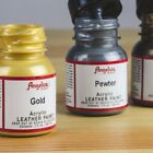 Angelus Metallic Acrylic Leather Paint 1 fl. oz/ 29.5ml Bottle
