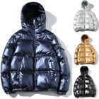 Men Winter Puffer Bubble Down Jacket Coat Hooded Quilted Padded Parka Outwear US